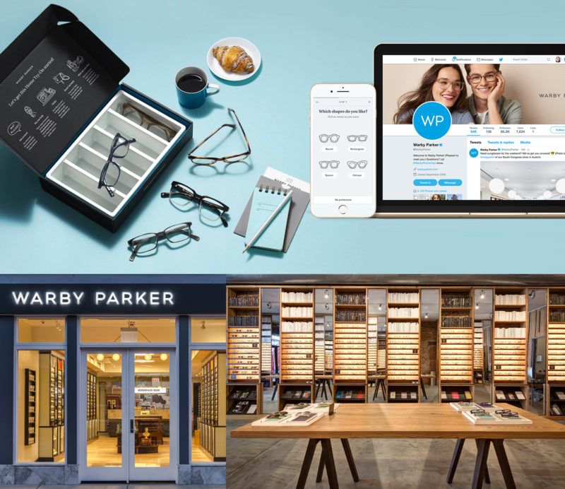 warby parker branding